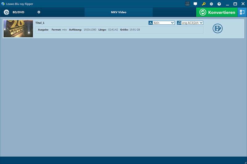 Blu ray Ripper full screenshot